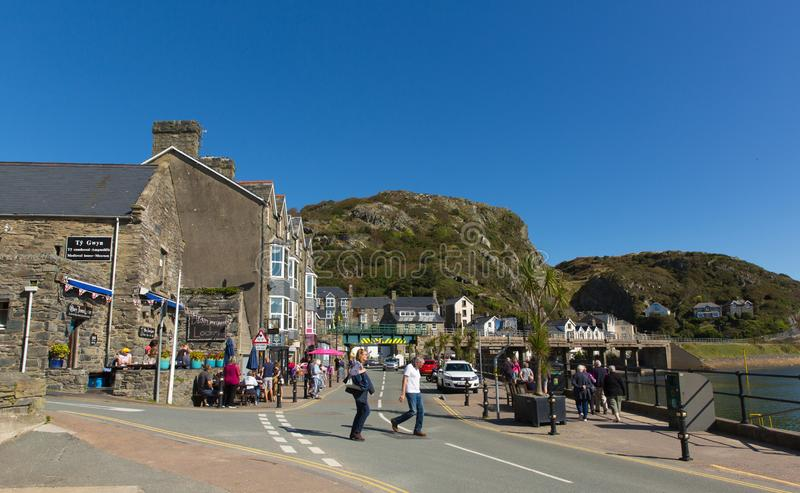 Barmouth, North Wales on Wednesday 18th September 2019 royalty free stock images