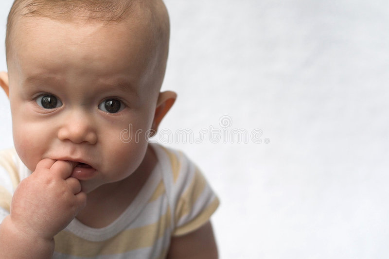 Download Beautiful Baby stock photo. Image of chew, bite, face - 1849498