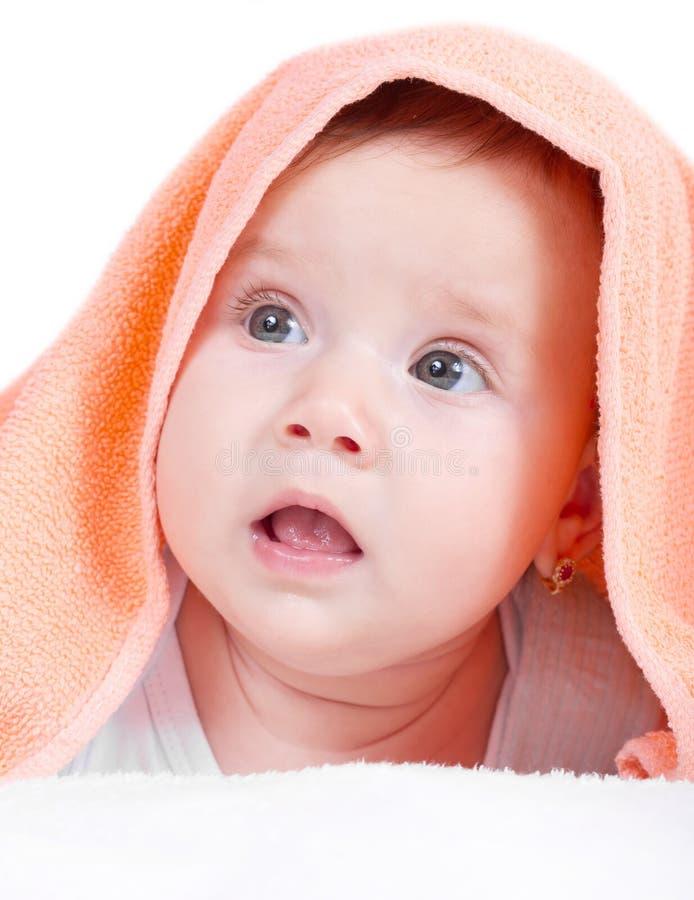 Beautiful baby girl portrait