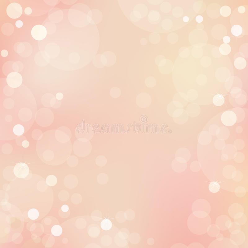Beautiful Background With Bokeh. Vector vector illustration