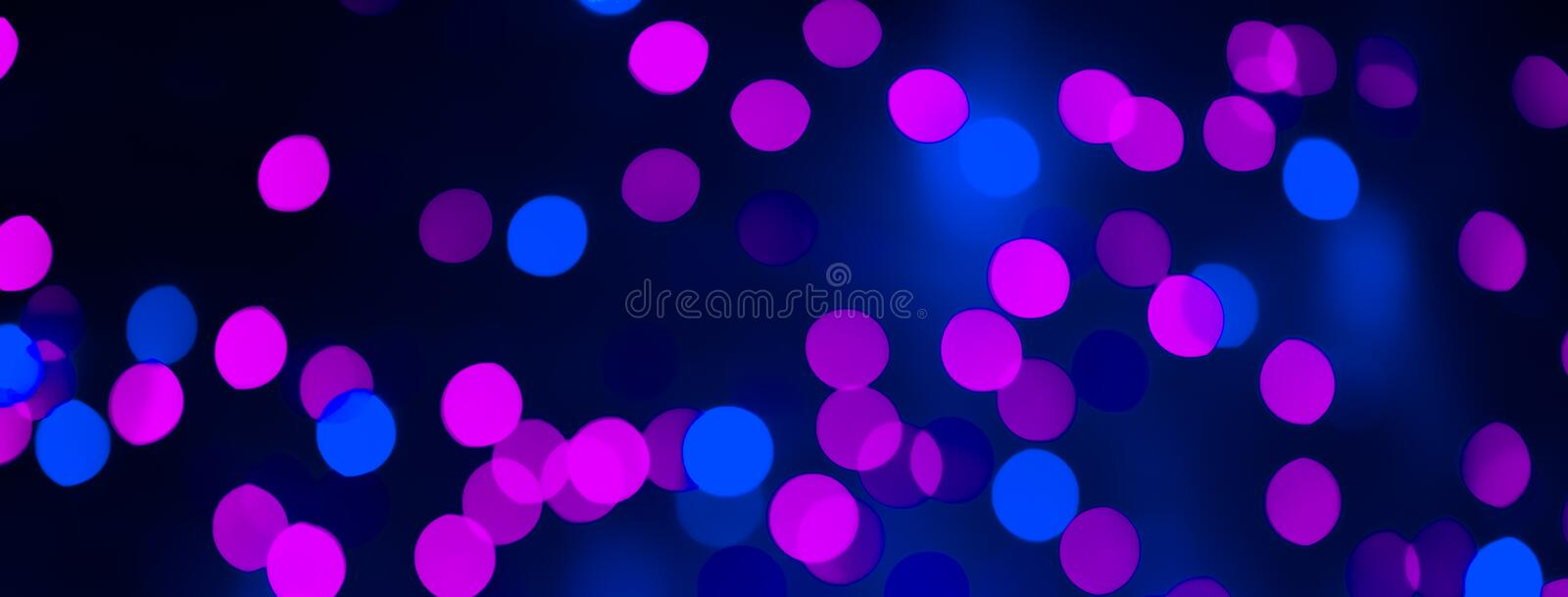 Beautiful background with bright pink and blue bokeh lightse. Beautiful background with bright pink and blue bokeh lights. Decorative Holiday Texture. Backdrop stock images