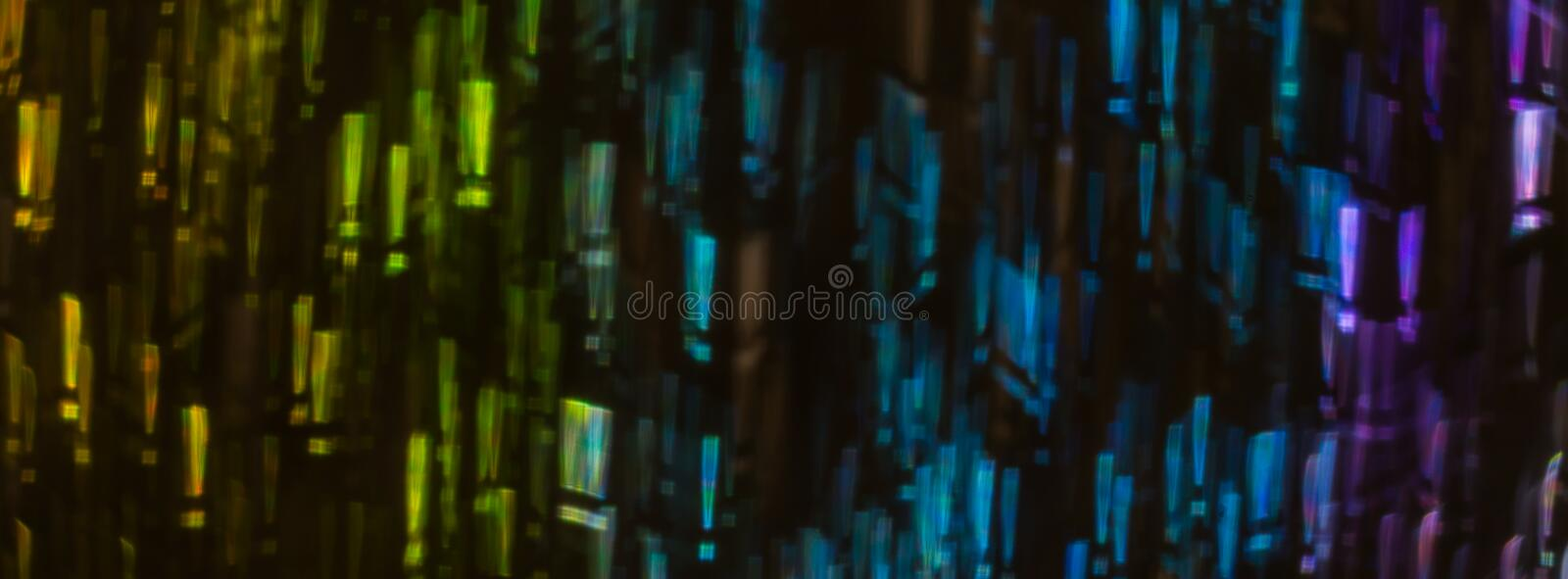 Beautiful background with different colored exclamation mark, ab royalty free stock photo