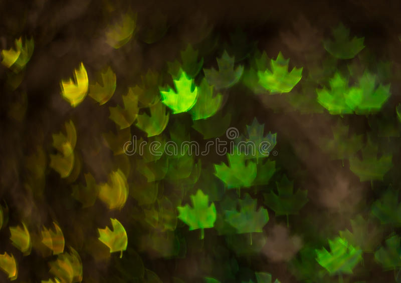 Beautiful background with different colored leaf, abstract background, leaf shapes on black background stock photos
