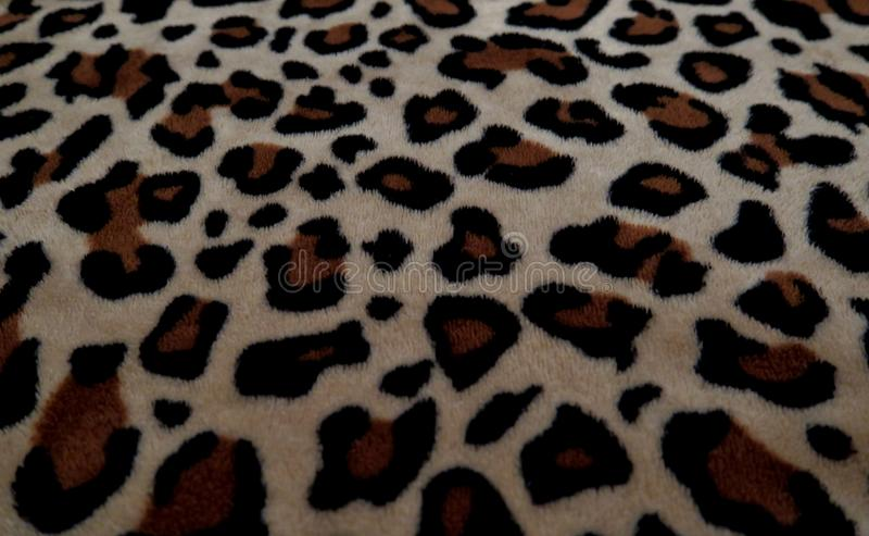 beautiful background with fur with leopard coloring royalty free stock image