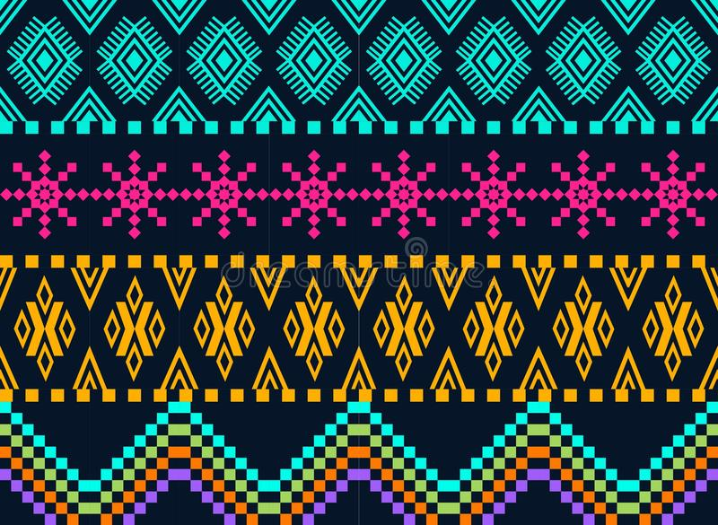 Download Beautiful Background,  Knitted Ornament Stock Vector - Image: 26931869