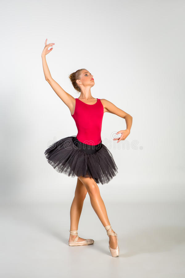 Beautiful ballet couple stock photos