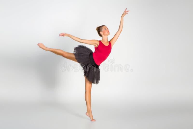 Beautiful ballet couple stock photo