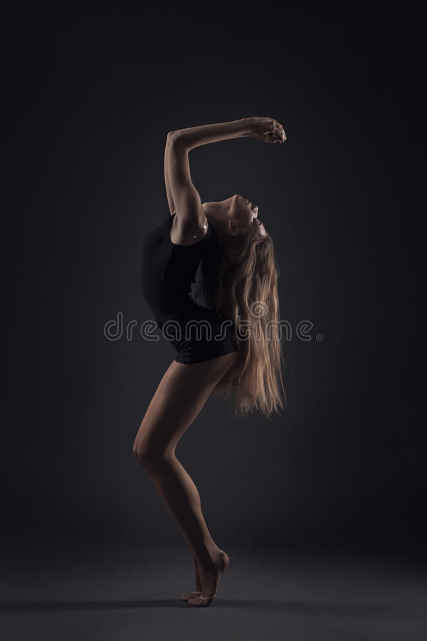 Download Beautiful ballet dancer stock photo. Image of background - 28109852