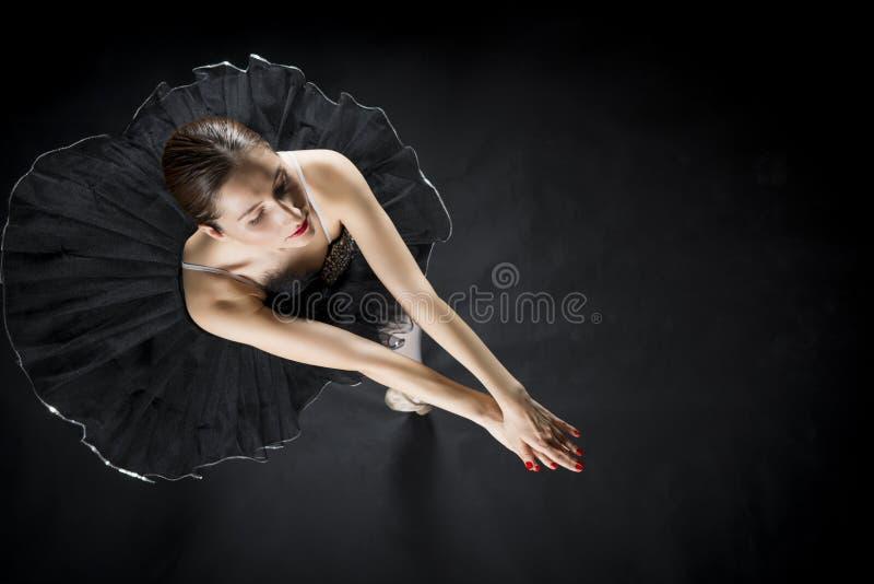 Beautiful ballet dancer stock images