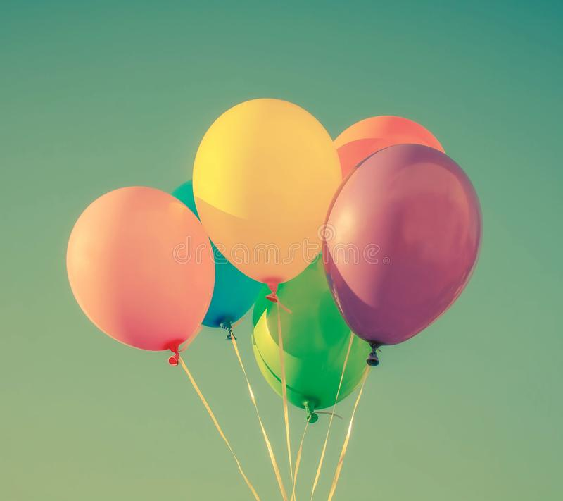 Beautiful balloon stock photography