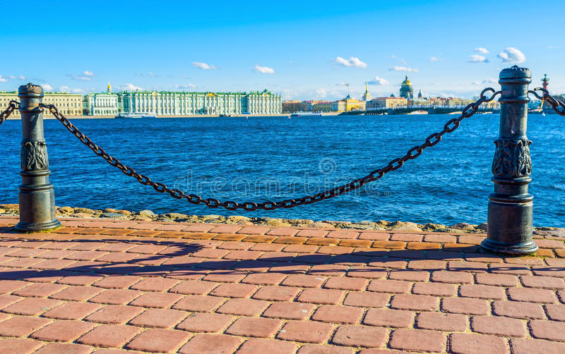 Beautiful barriers stock image