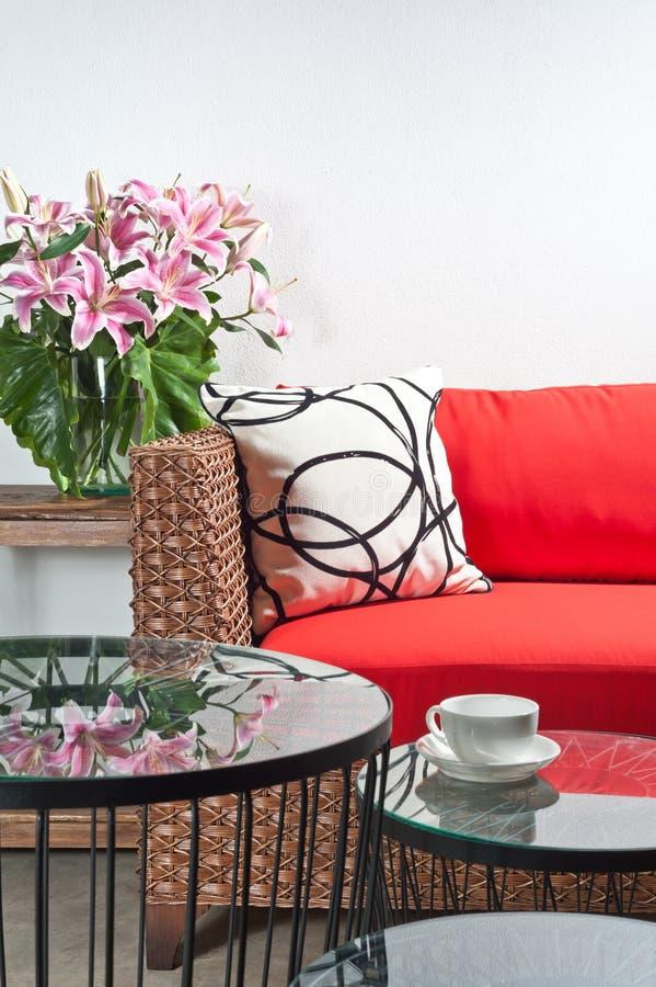 Free Beautiful Basketwork Furniture Royalty Free Stock Photos - 29951718