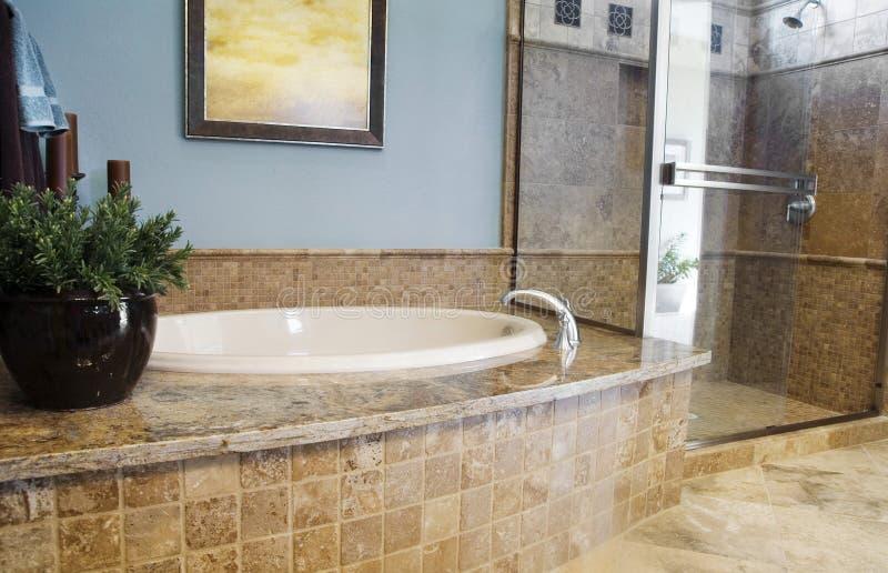 Beautiful Bathroom Interior Design Royalty Free Stock Photos