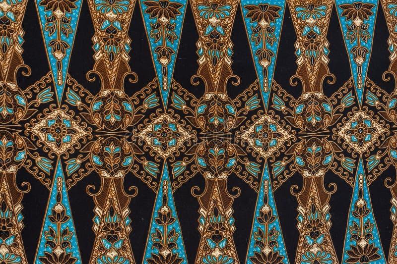 Beautiful Batik Pattern. Beautiful Batik Floral Pattern and Motifs stock image