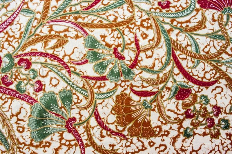 Beautiful Batik Pattern. Beautiful Batik Floral Pattern and Motifs royalty free stock photo