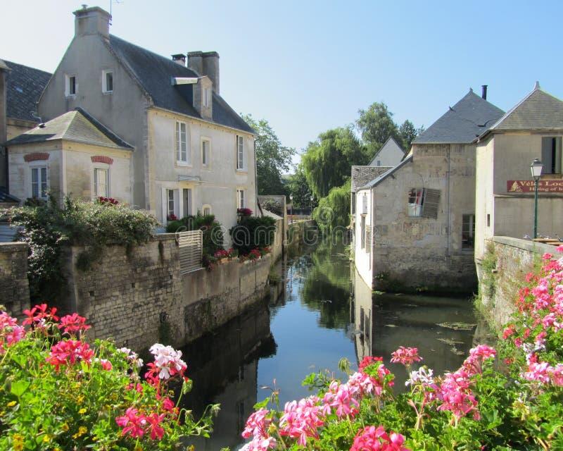 Beautiful Bayeux stock images