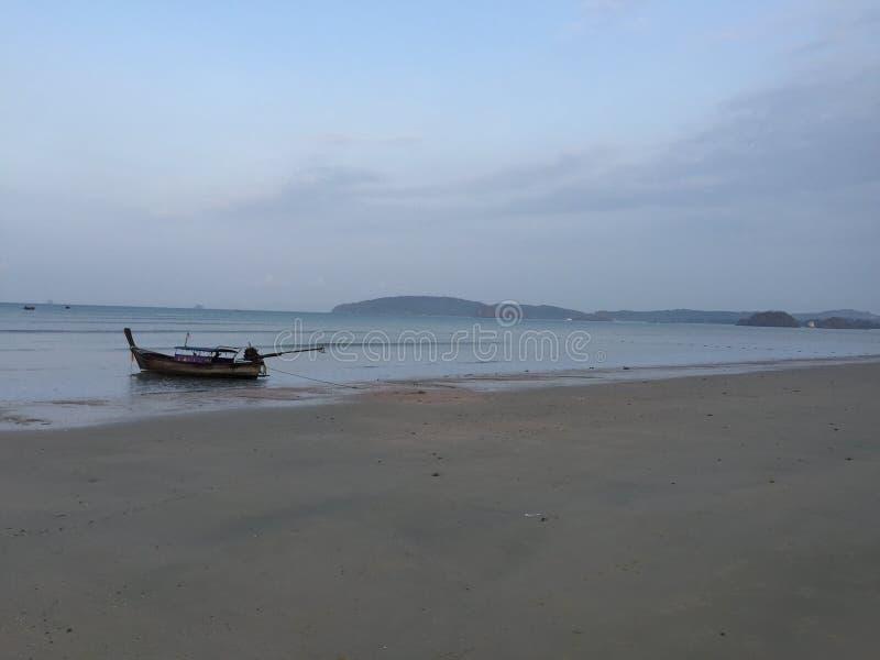 Beautiful beach Krabi Thailand royalty free stock photo