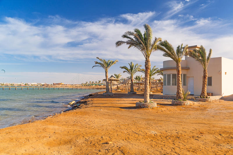 Download Beautiful beach of Red Sea stock photo. Image of peaceful - 30666482
