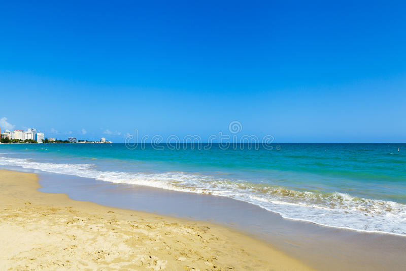Download Beautiful Beach In San Juan Stock Photo - Image of rico, laisure: 33513908