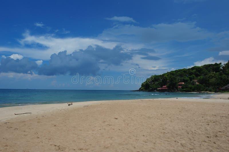 Nice beach at Lanta Island stock photography
