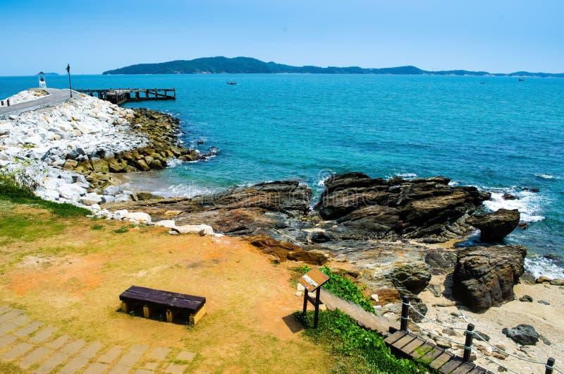 Beautiful beaches stock photo