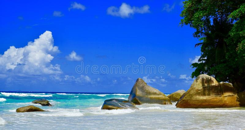 Beautiful beaches royalty free stock photography