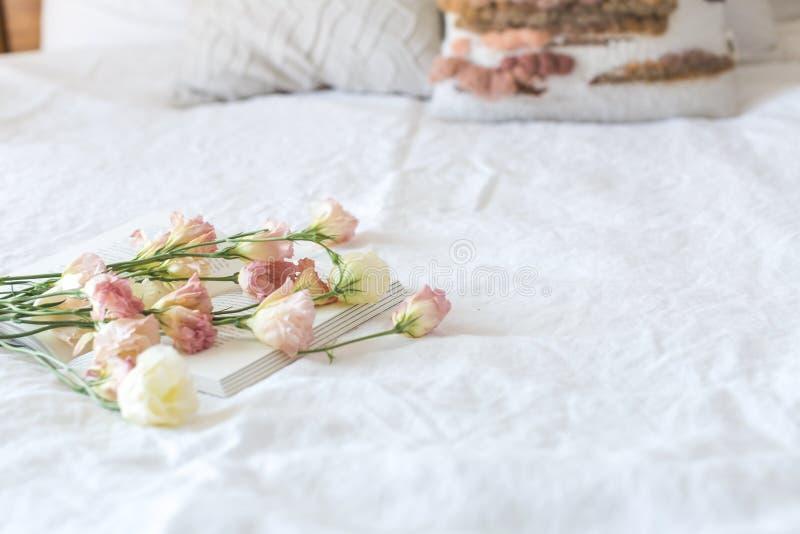 Beautiful, Bed, Bedroom stock photos