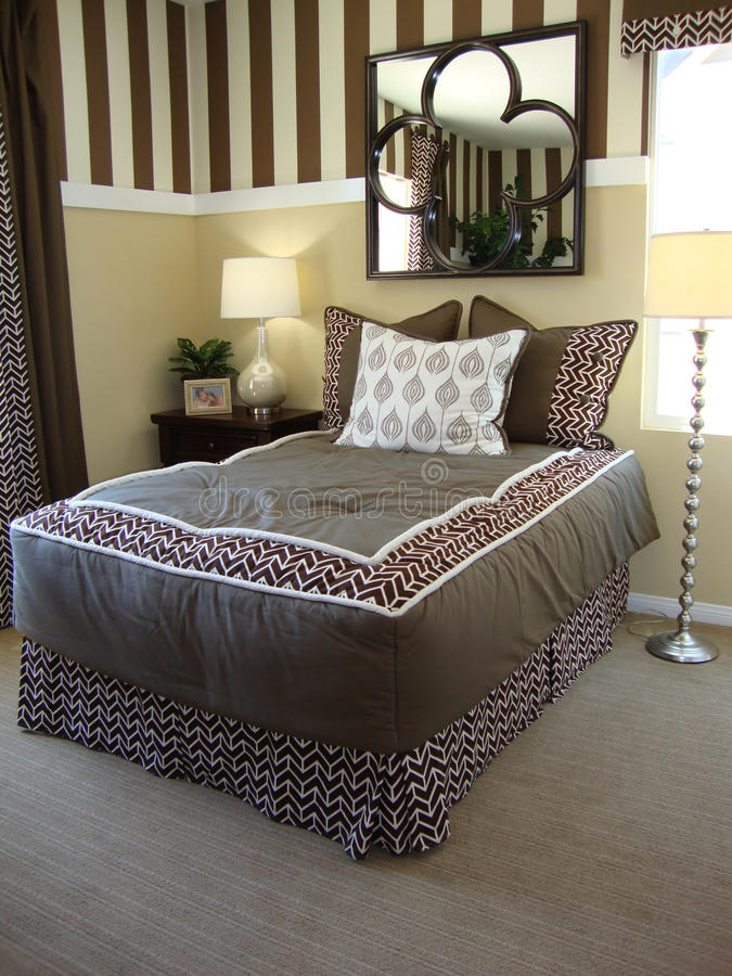 Beautiful Bed Room royalty free stock image