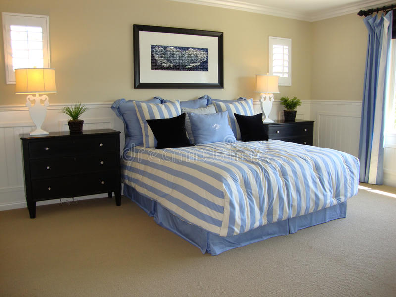 Beautiful Bed Room Stock Images