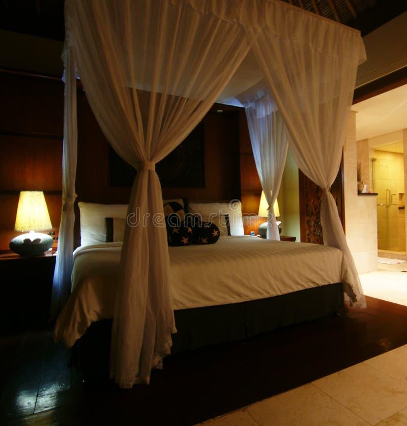 Beautiful bedroom royalty free stock image