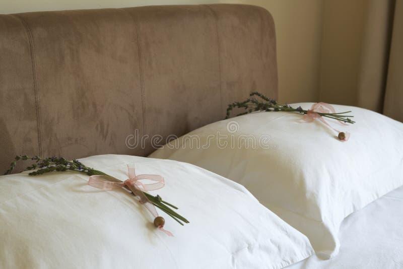 Beautiful bedroom interior stock images