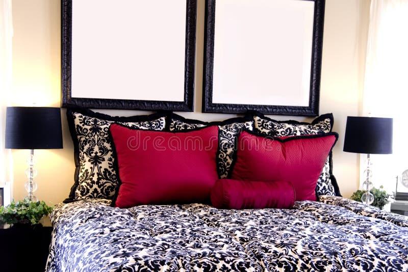 Beautiful bedroom interior design stock photo image of for Designhotel maastricht comfort xl