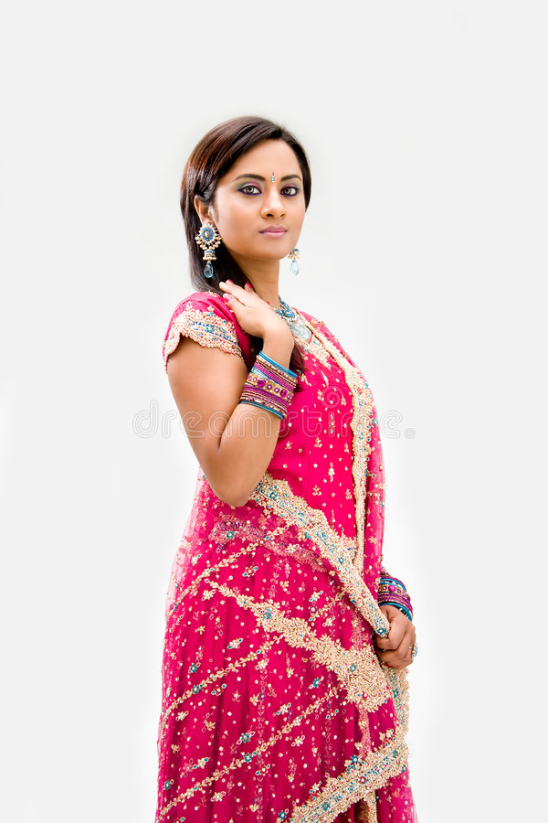 Beautiful Bengali Bride Royalty Free Stock Photography