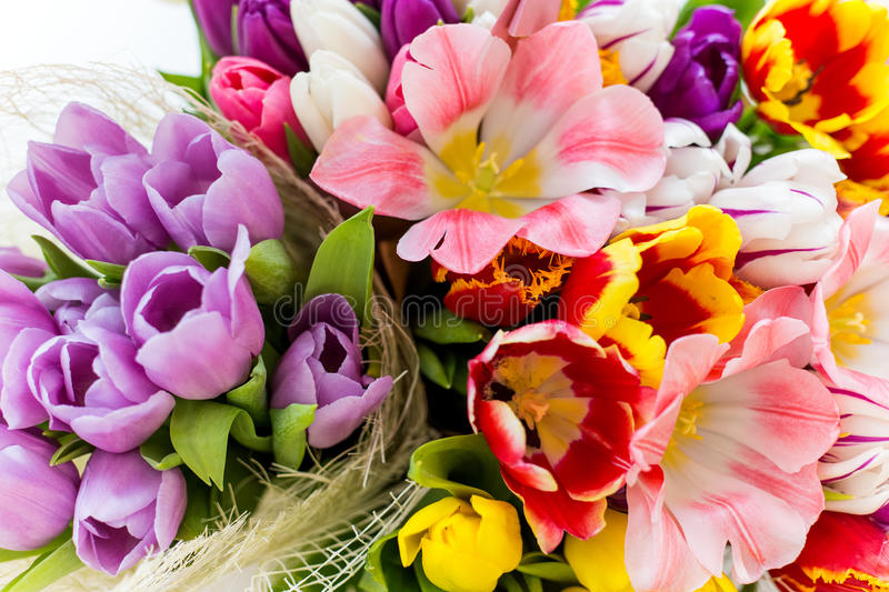 Beautiful big spring bouquet of multicolored tulips stock photo download beautiful big spring bouquet of multicolored tulips stock photo image of natural florist mightylinksfo