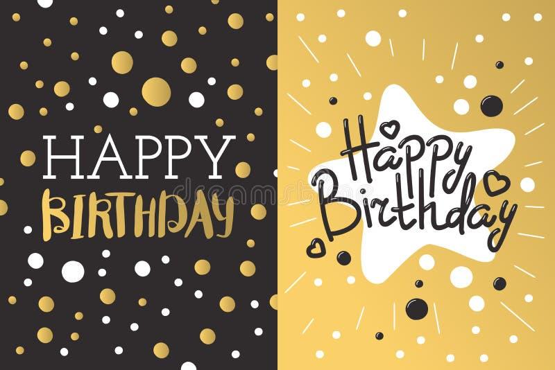 Beautiful birthday invitation card design gold and black colors download beautiful birthday invitation card design gold and black colors vector greeting decoration stock vector stopboris Choice Image