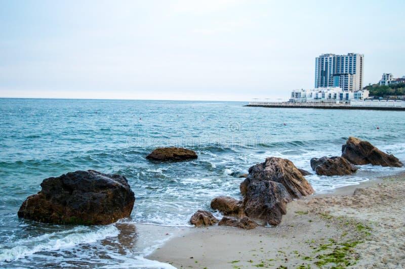 Beautiful Black Sea stock photography