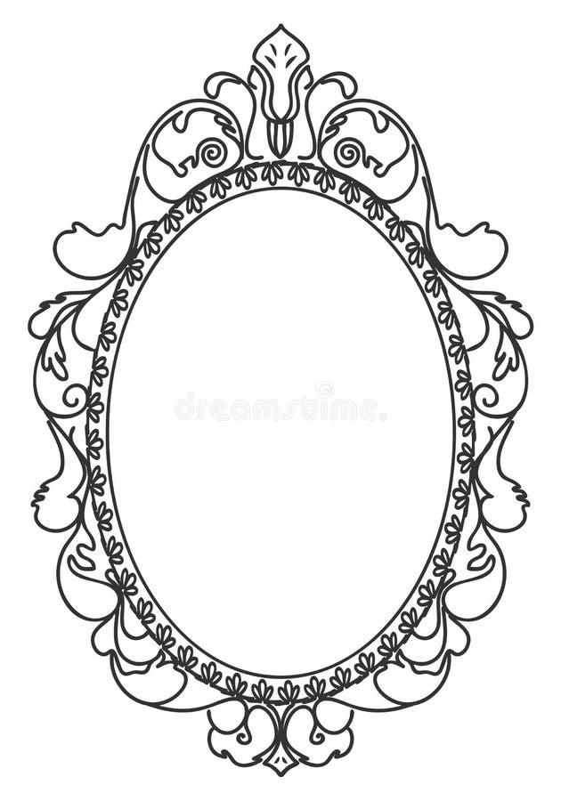black vintage frame design. Download Beautiful Black Vintage Frame. Stock Vector - Illustration Of Frame, Decor: 34632588 Frame Design T