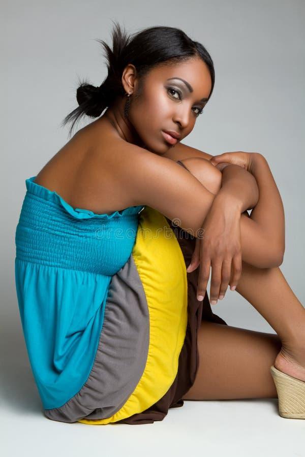 Beautiful Black Woman royalty free stock photography