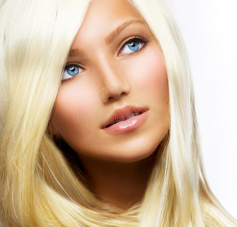 Beautiful Blond Girl royalty free stock images