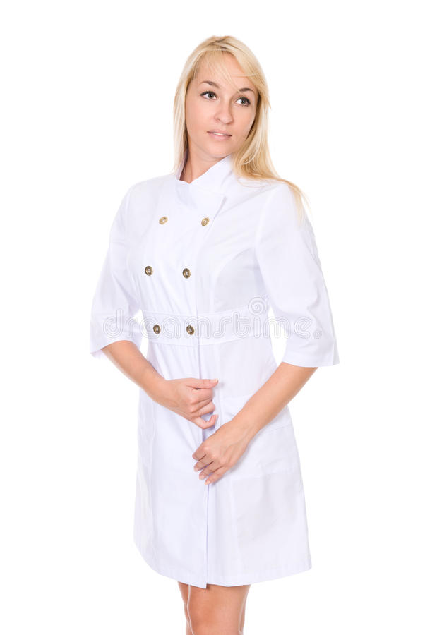 Beautiful Blond Healthcare Worker Stock Images