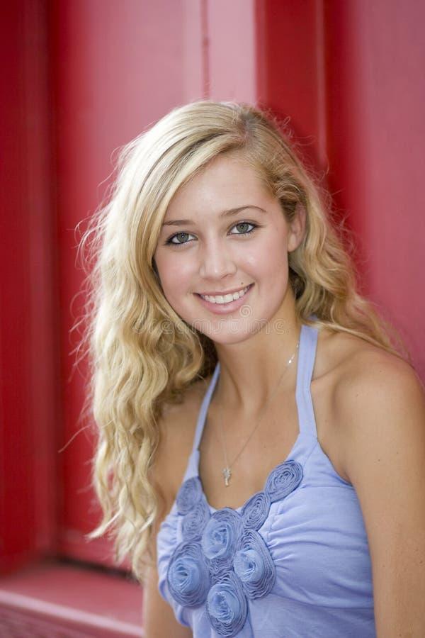 Free Beautiful Blond Portrait Stock Image - 6637721