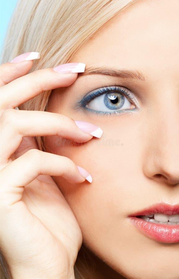 Download Beautiful blonde stock image. Image of european, cosmetics - 18113975