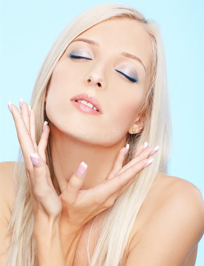 Download Beautiful blonde stock photo. Image of pleasure, lifestyle - 18113984