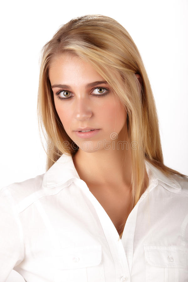 Beautiful Blonde Woman Stock Photos