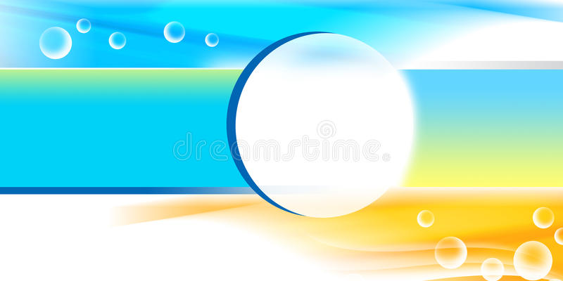 Beautiful blue background royalty free stock images