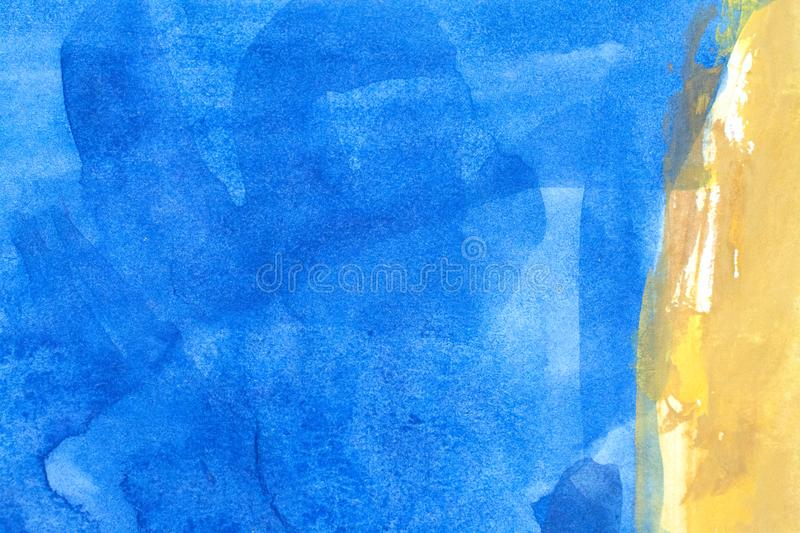 Beautiful blue background. Blue Abstract grunge texture background stock image