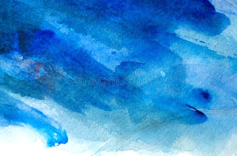 Beautiful blue background. Blue Abstract grunge texture background royalty free stock photos