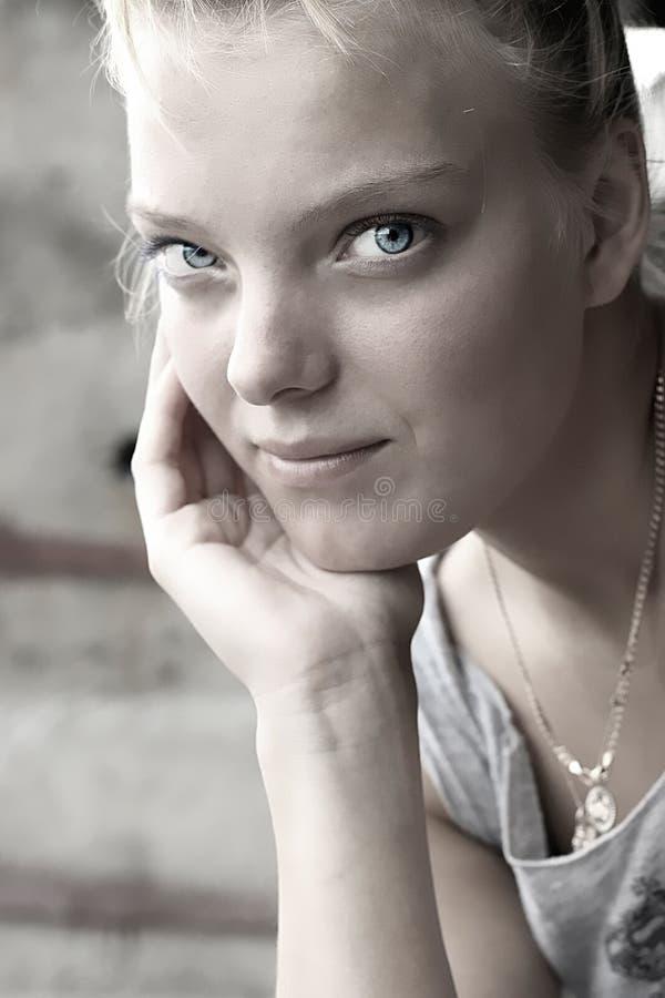 Free Beautiful Blue Eyes Stock Image - 3360811