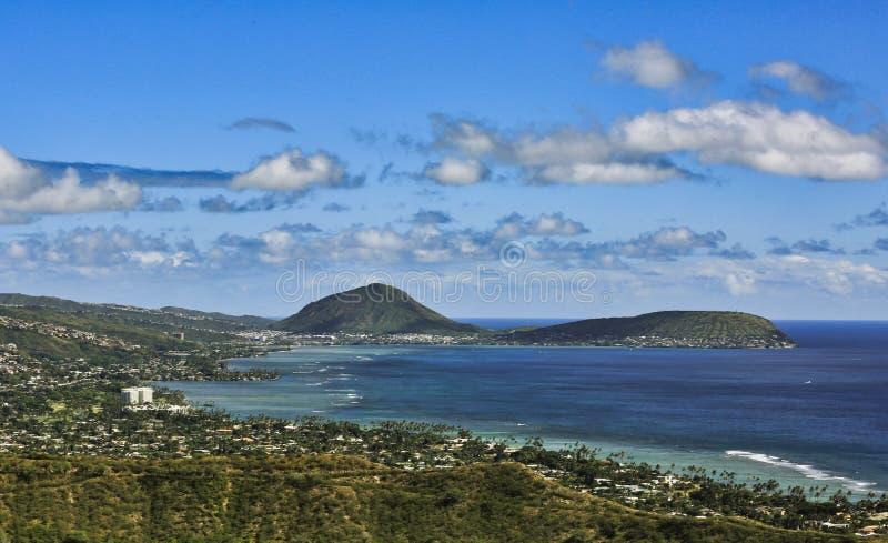 Oahu Pacific Ocean seascape stock photos