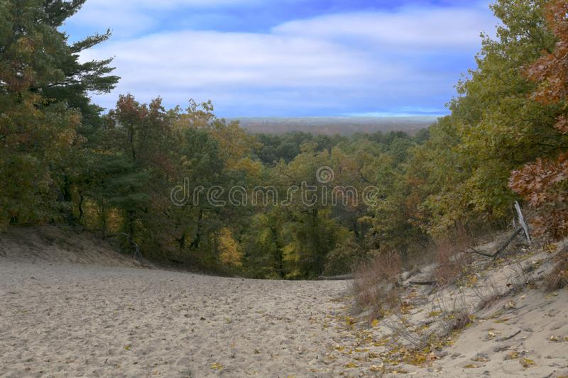 Colorful Dunes Vista royalty free stock photography